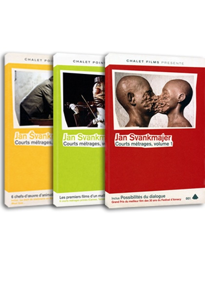 Jan Švankmajer en DVD