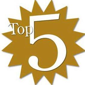 Le Top 5 2013 de la rédac'