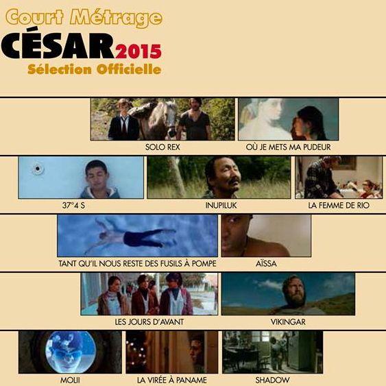 César 2015 : Projection au Balzac des courts métrages sélectionnés