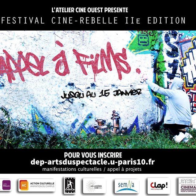 Festival Ciné-Rebelle, appel à films