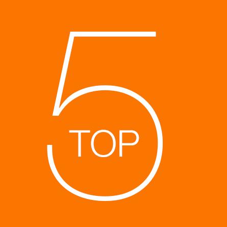 Le Top 5 de l'équipe de Format Court !