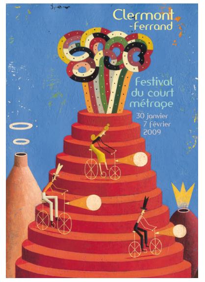 Affiche du festival de clermont ferrand 2009