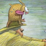 Hot dog de Bill Plympton