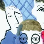 The Man with the beautiful eyes (L'homme aux beaux yeux) de Jonathan Hodgson