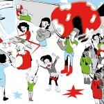 Clermont-Ferrand : clin d'œil illustré