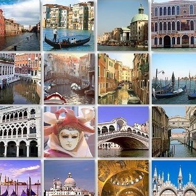 Venise, ses ponts, ses gondoles, ses stars et ses pigeons