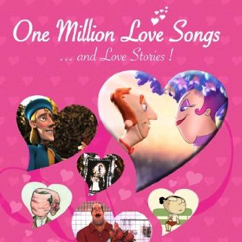 One Million Love Songs… and Love Stories!