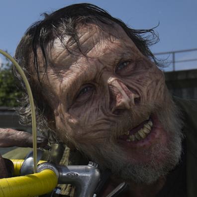 Le zombie au vélo de Christophe Bourdon