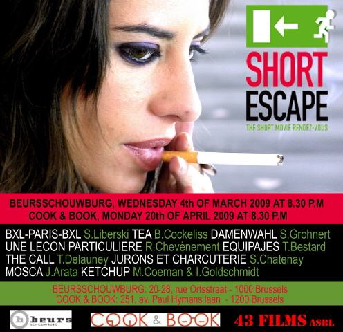 Short Escape, le 20 avril